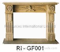 Natural Granite Fireplaces