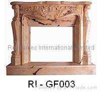 Natural Granite Fireplaces 3