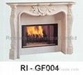 Natural Granite Fireplaces 4