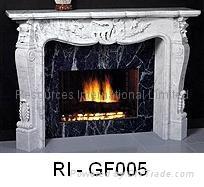 Natural Granite Fireplaces 5