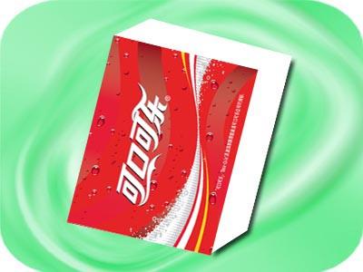 Coca-Cola handkerchief paper  1