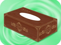 Wooden box tissue