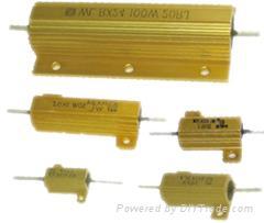 金屬鋁外殼電阻,線繞電阻,鋁殼電阻
