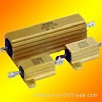 变频器/大功率逆变器/伺服控制器专用铝壳电阻