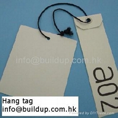 Hang tag/Woven or printed label/Patch