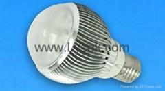 LED大功率球泡燈,E27,6粒1W裝,6W