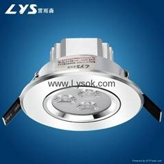 LYS-S3-2  3WLED天花射灯