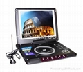 "10.4"" portable DVD player"