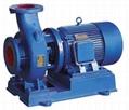 ISW型管道离心泵