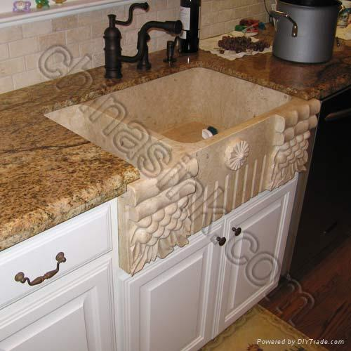 stone farm sinks - FS-02 (China Manufacturer) - Products