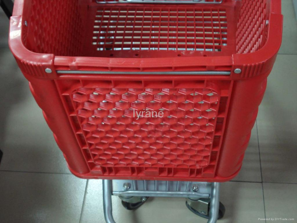 plastic shopping trolley 3