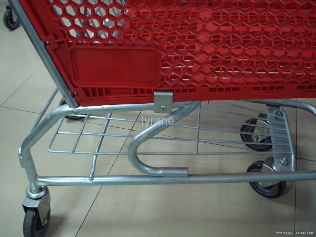 plastic shopping trolley 4