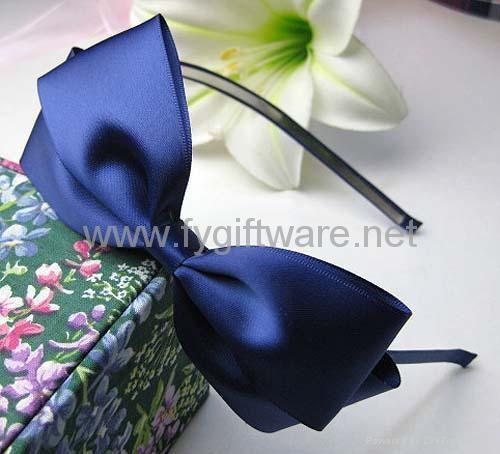 FYHB0458big ribbon bow hairband - Product Catalog - China - FangYuan ee569c78259