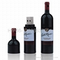 Wine store gift usb flash memory