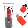 Fire extinguisher Usb disk,  charitable advertising  usb flash drive