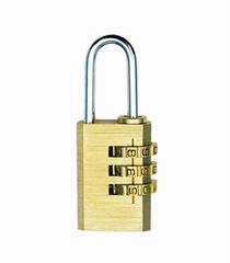 銅密碼挂鎖
