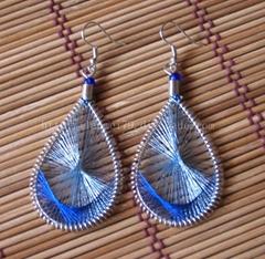 尼泊尔/印度/西藏手工自制耳环