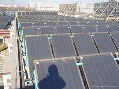 falt solar collectors