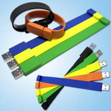 Silicone USB Bracelet 1