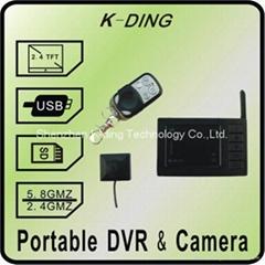 Wireless Portable DVR/camera  kit