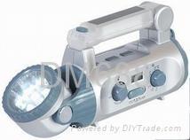 Dynamo multifunction flashlight 2