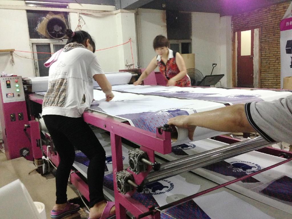 sublimation heat press transfer printing