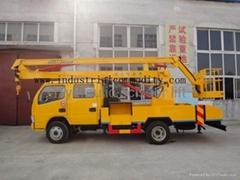 truck mounted man lift