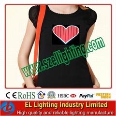 El lady t shirt/Sexy ladies el muscial t shirt