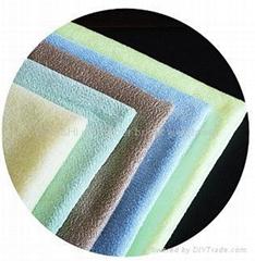 microfiber bright weft towel