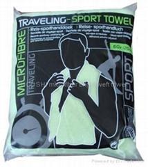 超细纤维运动毛巾