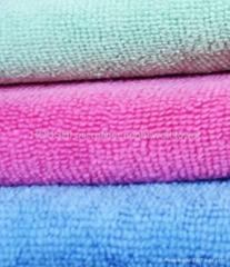 超细纤维经编毛巾
