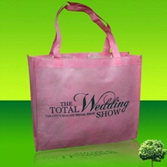 Nonwoven promotional bag
