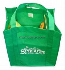 Polypropylene nonwoven bag,fabric shopping bags,advertising bag