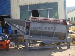 sand ore washing plant trommel screen machine