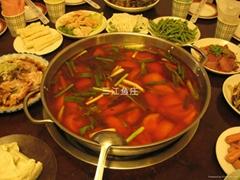 三江魚莊番茄口味湯鍋