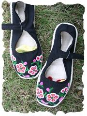 割花鞋/绣花鞋/手工布鞋--- 梅花