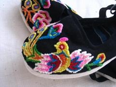割花鞋/绣花鞋/手工布鞋--- 凤凰