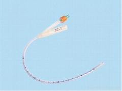 100% silicone nephrostomy balloon catheter