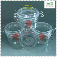 150ml pet seal  jar for candy container (Hot Product - 1*)
