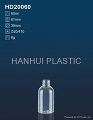60ml plastic bottle