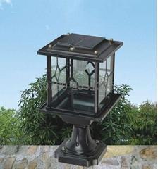 solar pillar light