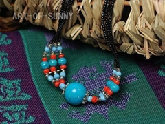 Tibetan Jewelry - Necklace 4