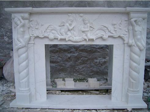 Sell Fireplace Mantel,Granite,Marble,Stone Carving 3