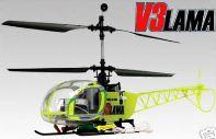 遥控飞机模型,批发 E-sky V3 LAMA 电动直升机