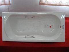 cast-iron bathtub