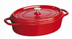 cast iron enamel Dutch ovens
