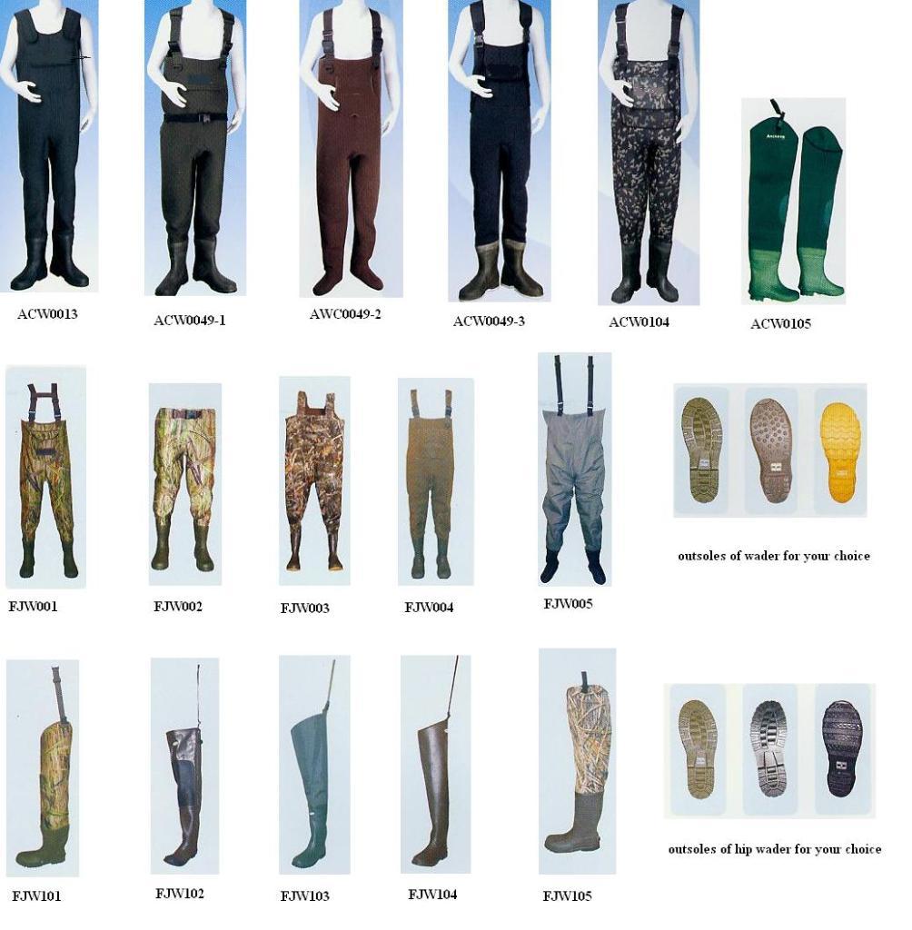 لباسهای ضد آب جهت استفاده در سیلاب و رودخانه