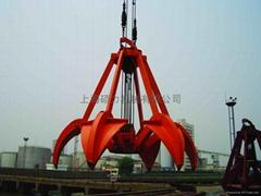 Rope Operated Orange-Peel Grabs