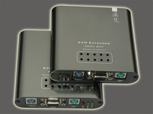 深圳汉楚科技键盘显示鼠标(KVM)延长器HT1101 1