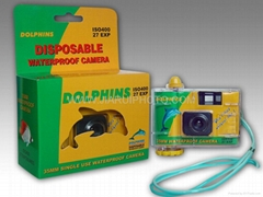 SINGLE USE UNDERWATER CAMERA